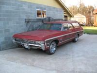 Looking For 1968 Caprice Hideaway Headlights Canadian Poncho
